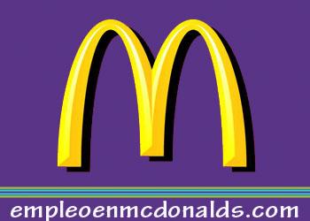 empleo en mcdonalds